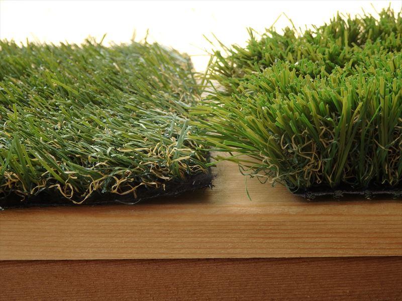 長さにバリエーションがあるロングパイル人工芝